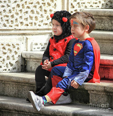 Photograph - Superman With His Buddy by Stephan Grixti