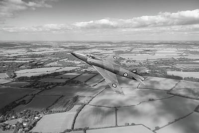 Photograph - Supermarine Swift F4 Climbing Bw Version by Gary Eason