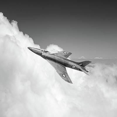 Photograph - Supermarine Swift Wk275 Bw Version by Gary Eason