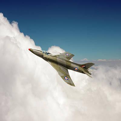 Photograph - Supermarine Swift Wk275 by Gary Eason