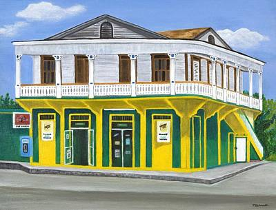 Puerto Rico Painting - Supermercado Ayala by Maureen Schmidt