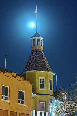 James Brown Photograph - Supermoon At The Finlandia by James Brown