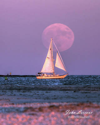 Photograph - Supermoon One by John Loreaux