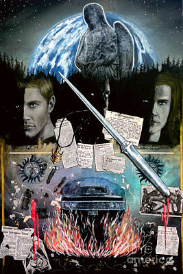 Painting - Supernatural by John Lyes