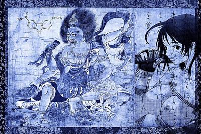 Warrior Goddess Mixed Media - Supernaturals by Thomas Bollinger