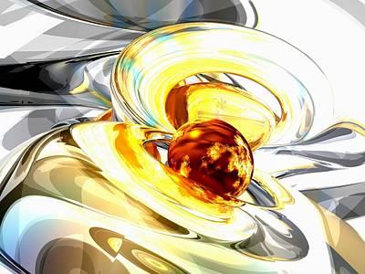 Supernova Digital Art - Supernova Abstract by Alexander Butler