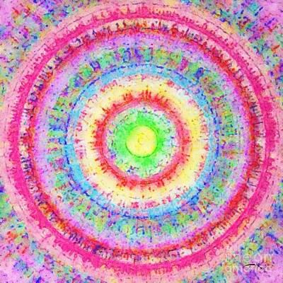 Mixed Media - Supernova by Julie Knapp