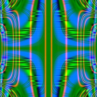 Superposition Of Trigonometric Curves No 001 Art Print by Dejan Antanaskovic