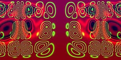 Superposition Of Trigonometric Curves No 003 Art Print by Dejan Antanaskovic