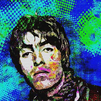 Lead Singer Mixed Media - Supersonic 2 by Otis Porritt