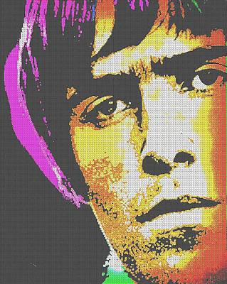 Lead Singer Mixed Media - Supersonic by Otis Porritt