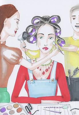 Superstar Art Print by Elena Belyaeva
