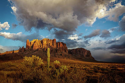 Photograph - Superstitiion Afternoon by David Cote