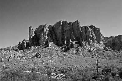 Photograph - Superstition Mountain I by David Gordon