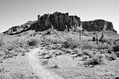 Photograph - Superstition Mountain by James Jones