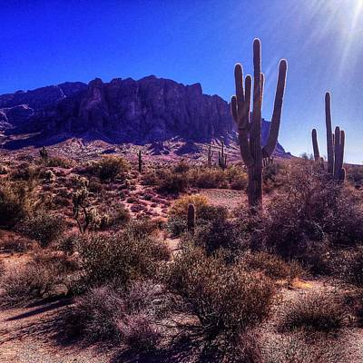 Photograph - Superstition Mountain Wilderness by Roger Passman