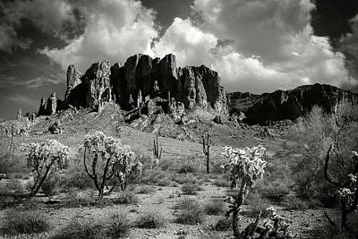 Photograph - Superstition Mountains by Bud Simpson