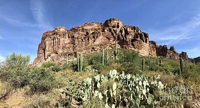 Photograph - Superstition Mountains by Sean Griffin