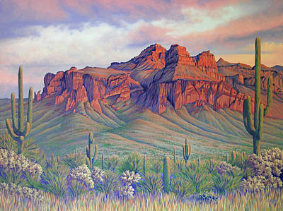Painting - Superstition Sonata by Cheryl Fecht