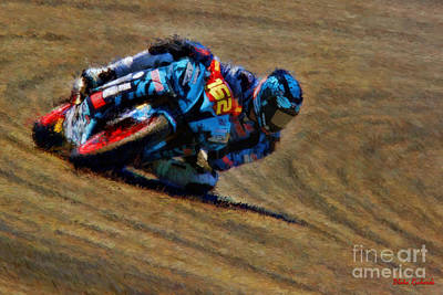 Photograph - Superstock 600 Andy Dibrino  by Blake Richards