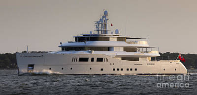 Photograph - Superyacht Grace E  by Dustin K Ryan
