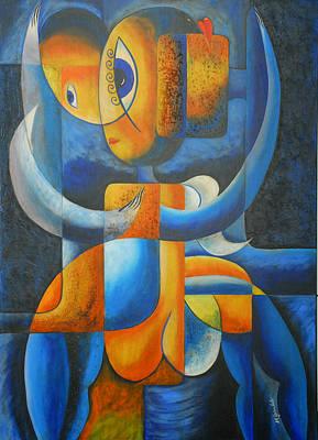 Suplication Art Print by Marta Giraldo