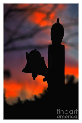 Supper Bell At Sunset Art Print