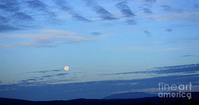 Photograph - Super Moon Over Saddle Back by Alana Ranney