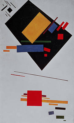 Dgt Painting - Suprematist Composition by  Kazimir Malevich
