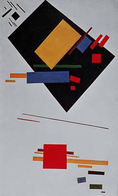 Suprematist Composition Art Print