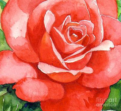 Supreme Beauty Art Print by Val Stokes