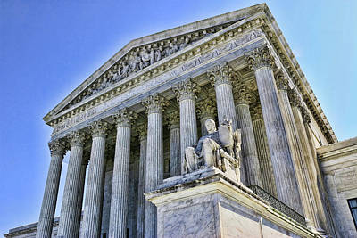Photograph - Supreme Court by Allen Beatty