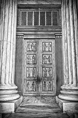 Photograph - Supreme Court Building 12 by Val Black Russian Tourchin