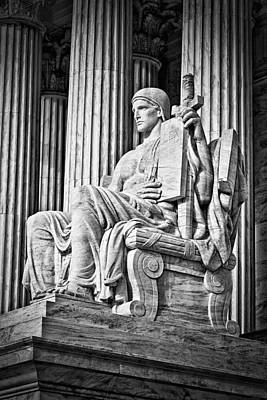 Supreme Court Building 4 Print by Val Black Russian Tourchin