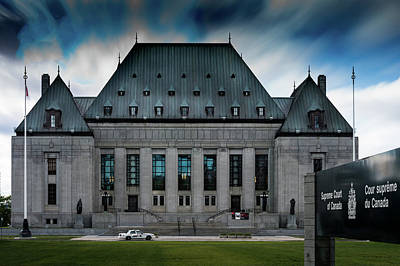 Photograph - Supreme Court Of Canada by M G Whittingham