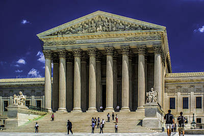 Photograph - Supreme Court Of The United States by Nick Zelinsky