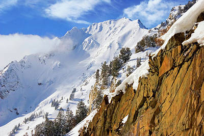 Photograph - Suprior Peak by Douglas Pulsipher