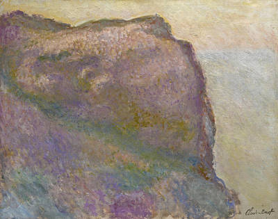 Painting - Sur La Falaise Au Petit Ailly by Claude Monet