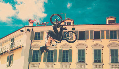 Backflip Photograph - Sure Backflip Ride Summer by Alessandro Zenone