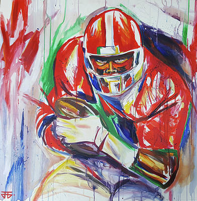 Painting - Sure To Score by John Jr Gholson