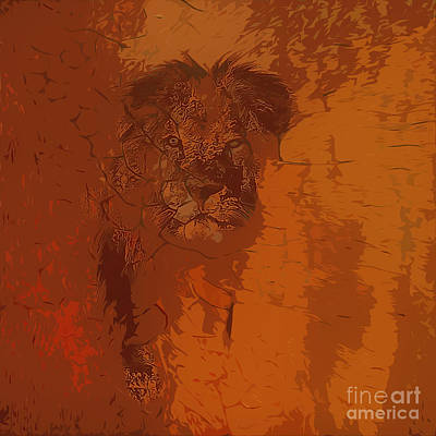 Lion And The Lamb Photograph - Surely I Am Coming Soon by Beverly Guilliams