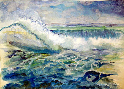Painting - Surf 2 by Raymond Doward