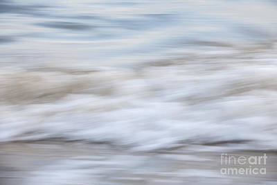 Photograph - Surf Abstract 1 by Elena Elisseeva