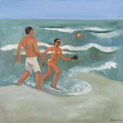 Surf Ball Art Print