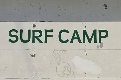 Photograph - Surf Camp by Art Block Collections