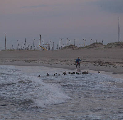 Photograph - Surf Caster I I by Newwwman