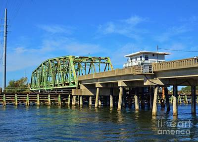 Photograph - Surf City Bridge - 1 by Bob Sample
