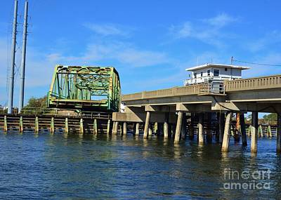 Photograph - Surf City Bridge by Bob Sample