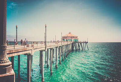 Pch Photograph - Surf City Memories by Spencer McDonald