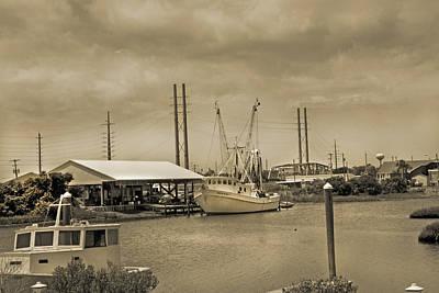 Shrimp Boat Photograph - Surf City North Carolina by Betsy Knapp